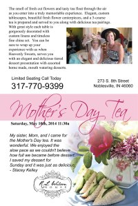 Mother's Day Tea 2014