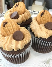 Chocolate Nutter Butter Cupcake
