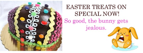 Click Here to View the Easter Menu