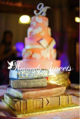 Custom Stacked Books photography by Jessica Strickland