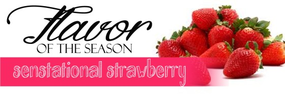 Flavor of the Season Strawberry