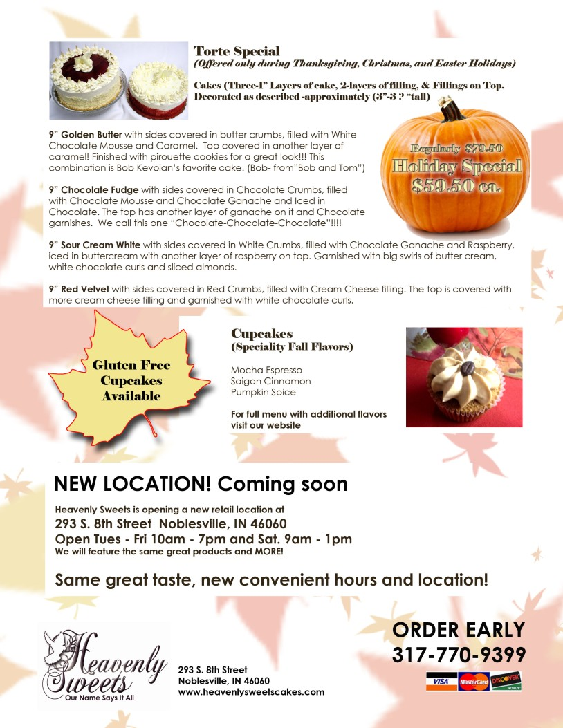 Fall Offerings 2014 BACK