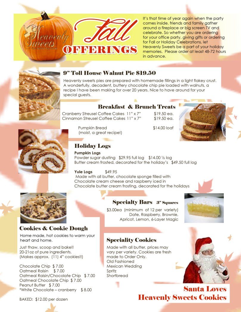 Fall Offerings 2014
