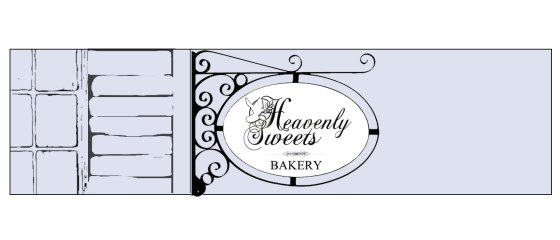Heavenly Sweets WordPress Banner