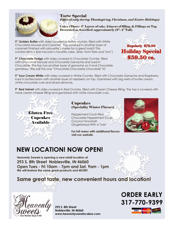 Holiday Offerings 2014 BACK