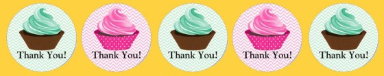 Thank You in Cupcakes