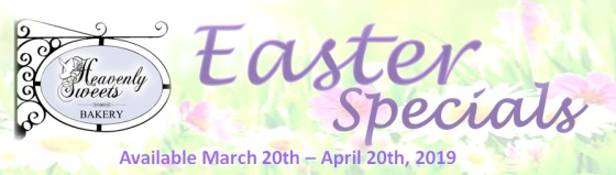 2019 Easter Specials